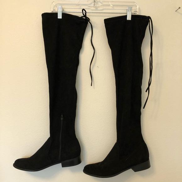black thigh high boots target Shop